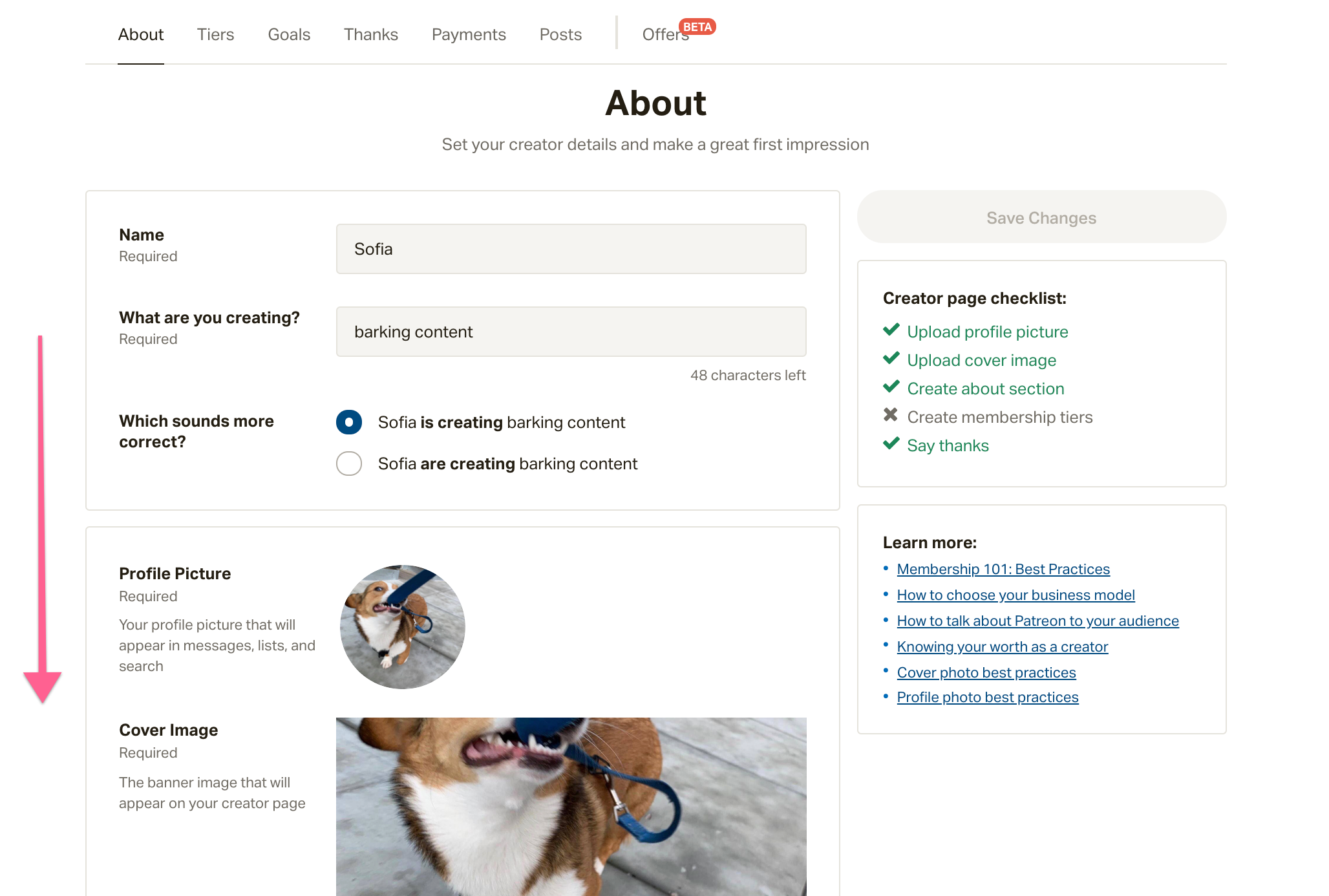 How do I customize my URL? – Patreon Help Center