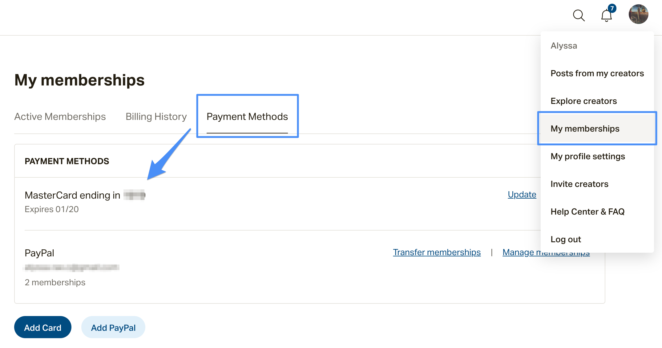 How do I update my payment information? – Patreon Help Center