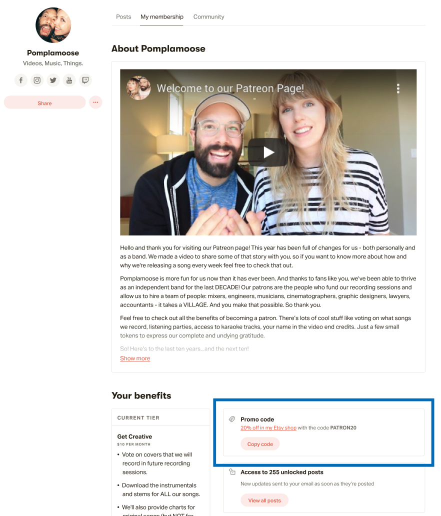 promo-code-Membership-page.png